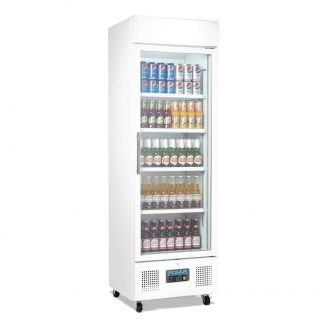 Polar G-Series staande display koelkast 336 liter wit
